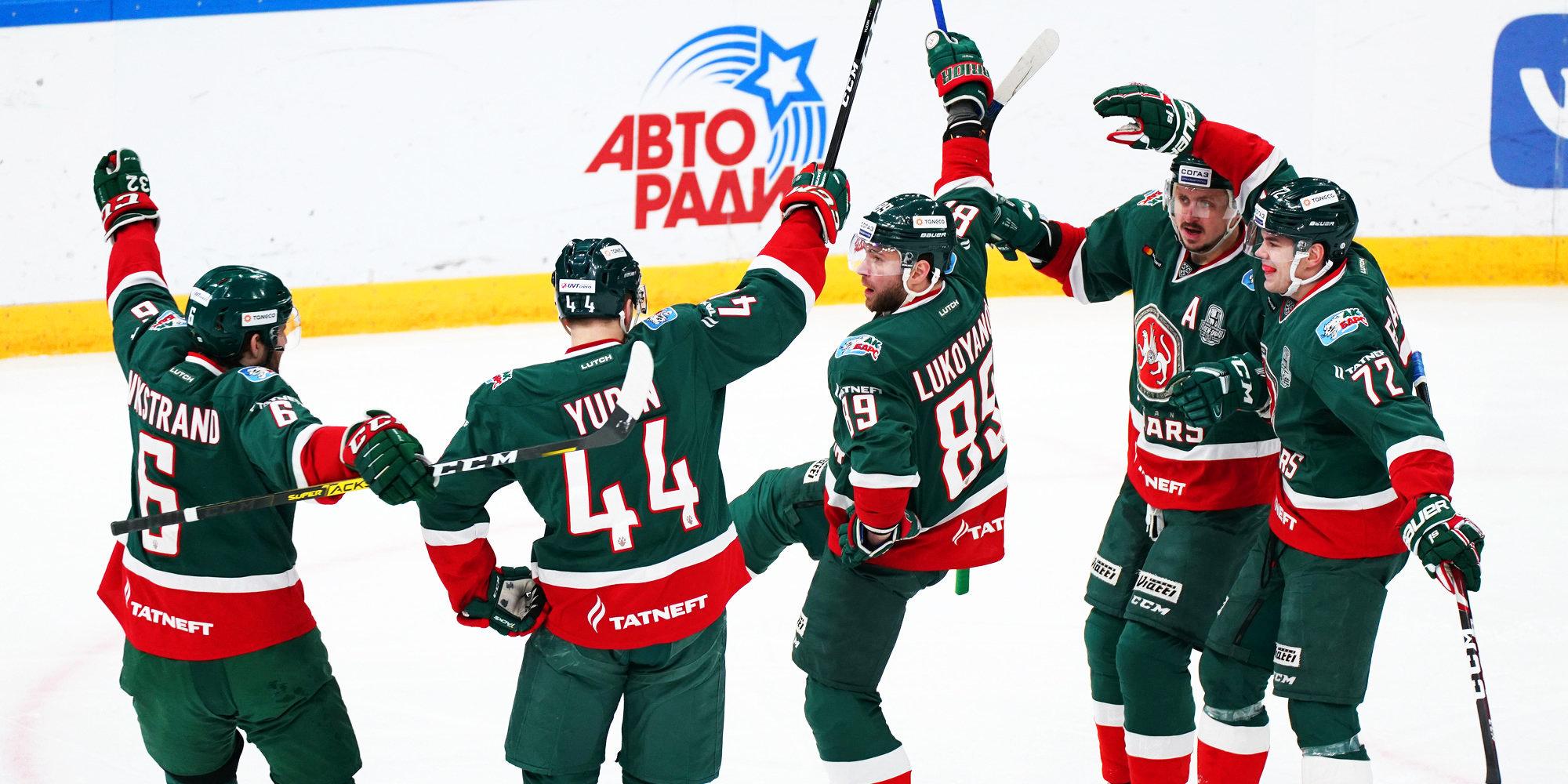 «Ак Барс» обыграл «Сибирь» и вышел на первое место в таблице Востока