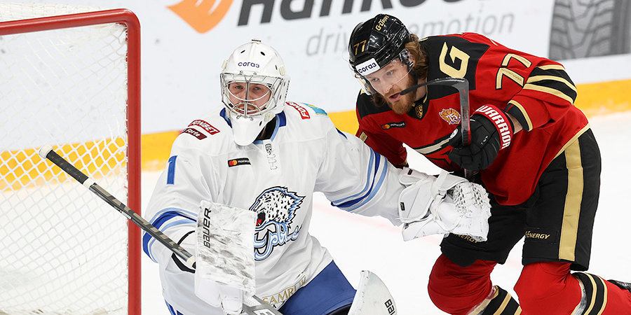 «Авангард» победил «Барыс» в матче КХЛ