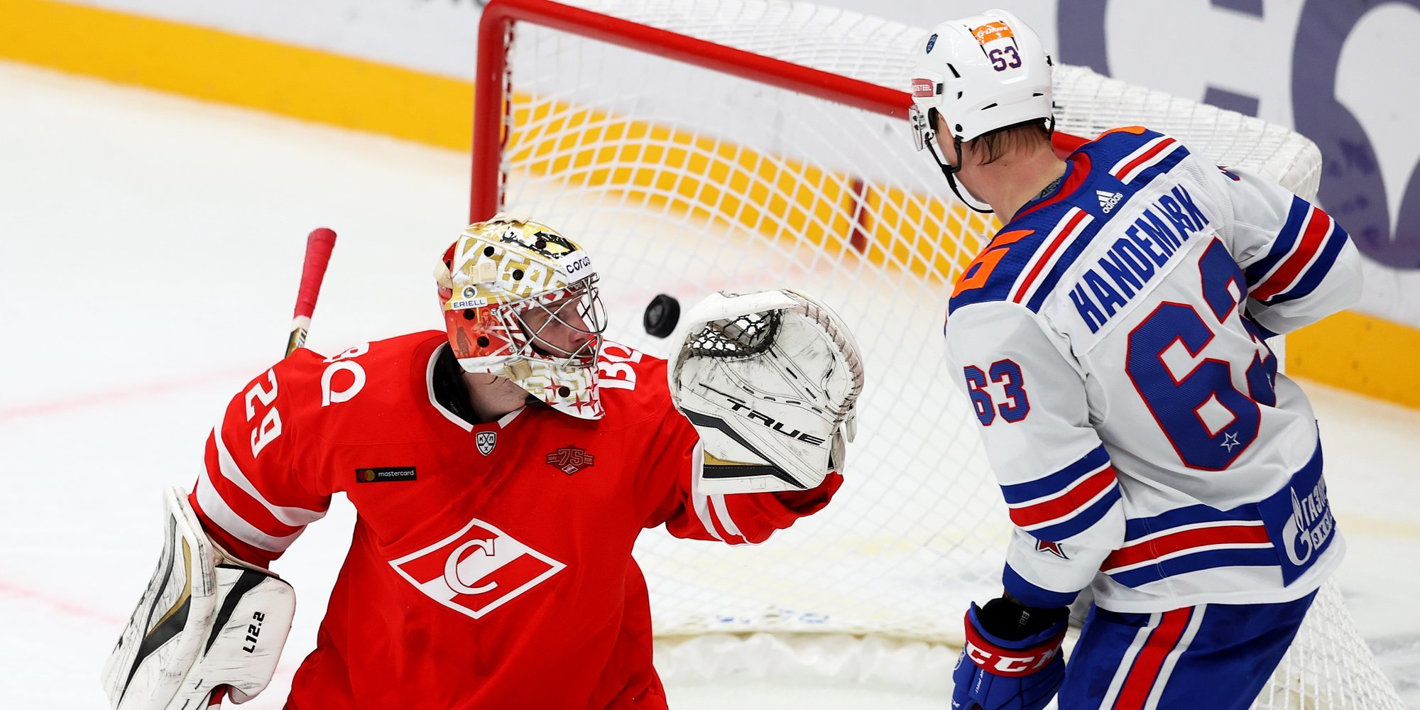 СКА нанес поражение «Спартаку» в Москве