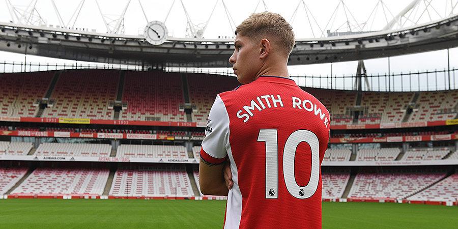 Смит-Роу получил в «Арсенале» номер Озила