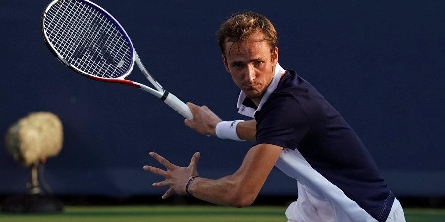 Медведев победил первую ракетку мира ивышел вфинал турнира вЦинциннати