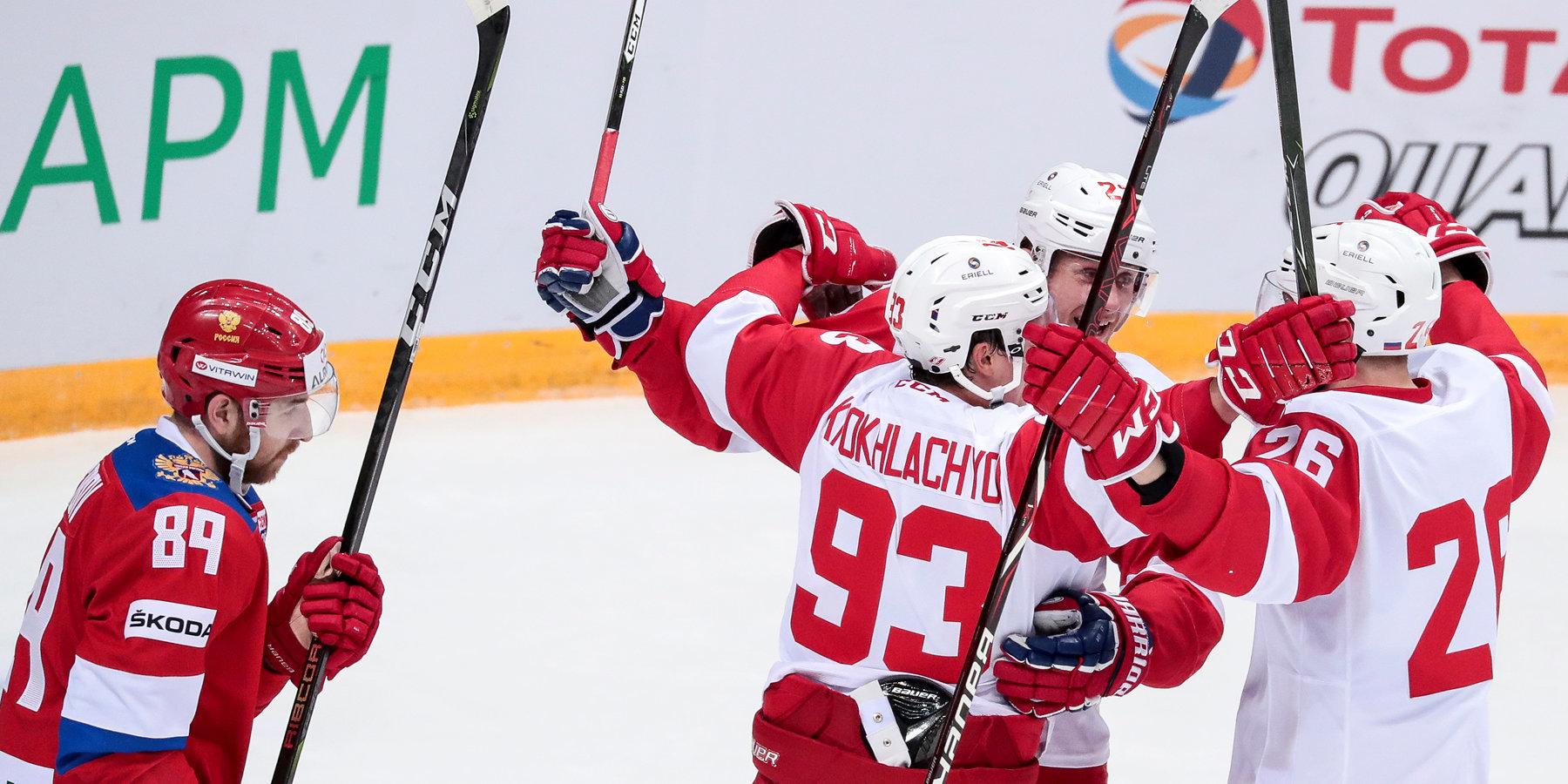 Нападающий сборной Российской Федерации Кирилл Капризов избежал травмы вматче соСпартаком