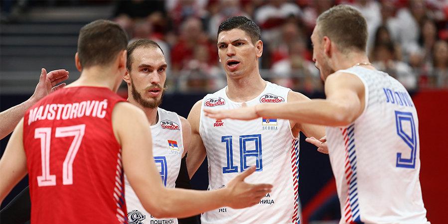 Италия обыграла сборную Сербии и вышла в финал ЧЕ
