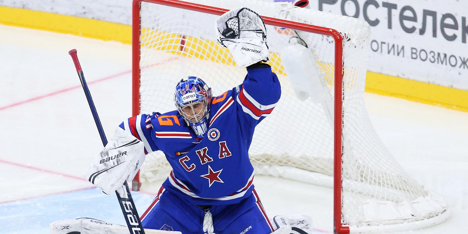 СКА потерпел третье поражение подряд, проиграв «Локомотиву», «Авангард» победил «Северсталь»