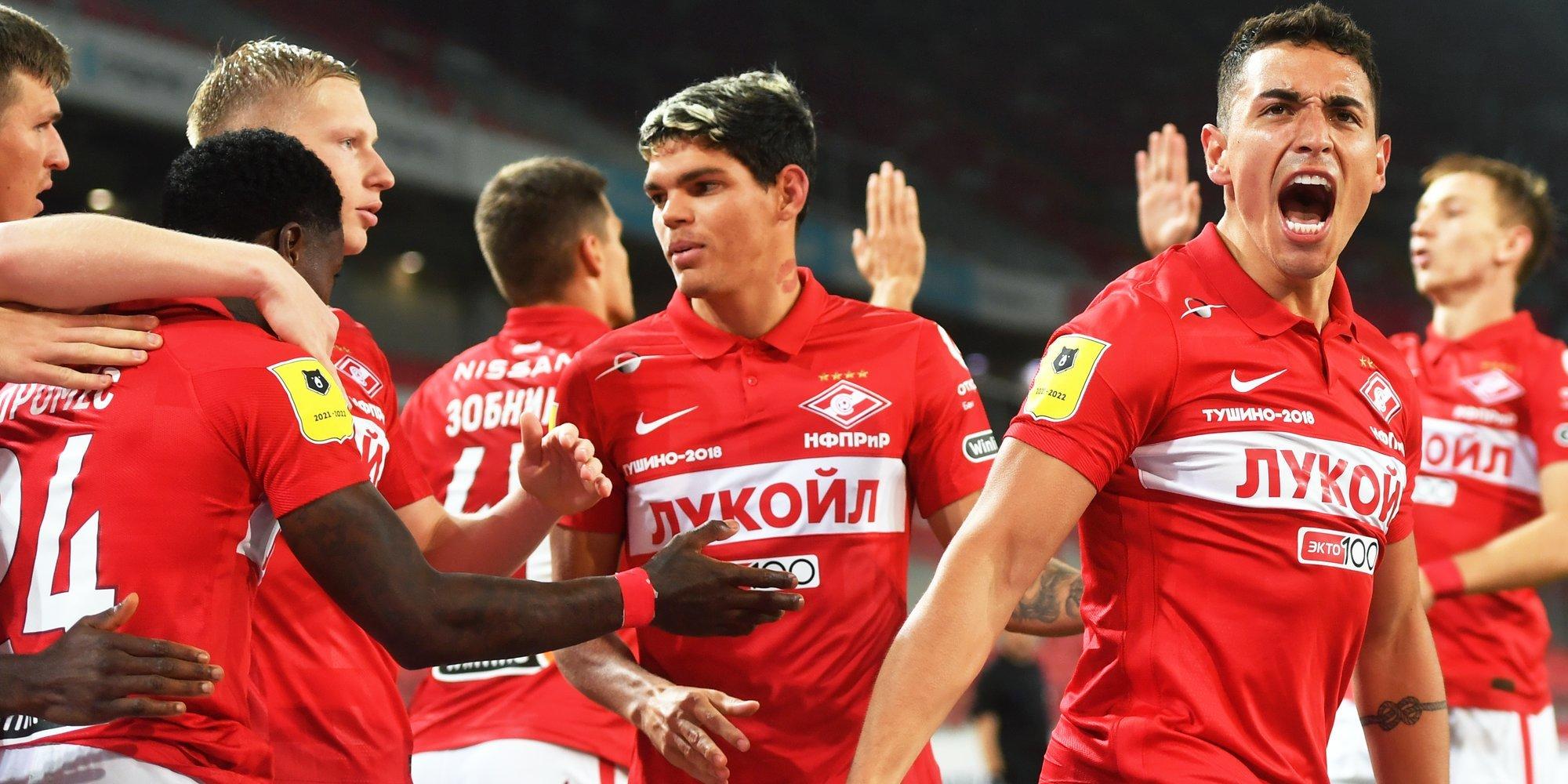 «Спартак» стал первым российским клубом с аудиторией соцсетей свыше 5 млн подписчиков