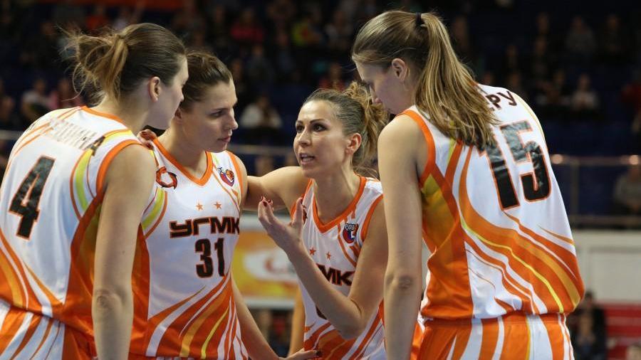 Баскетболистки УГМК разгромили «Лилль» в Евролиге