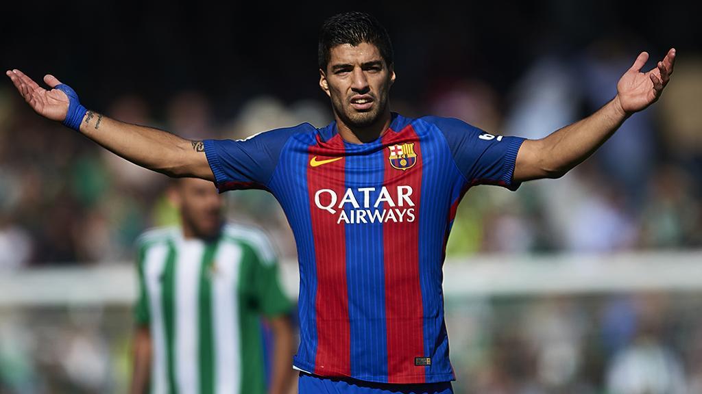 Гол Суареса спас «Барселону» отпоражения вматче с«Бетисом»