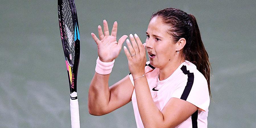 Касаткина не смогла выйти в четвертьфинал турнира WTA в Риме