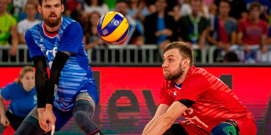 Российские волейболисты потерпели второе поражение кряду на Кубке мира