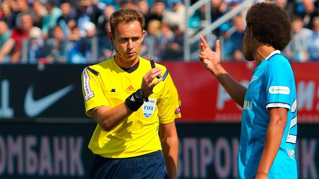 Мешков получил назначение наматч 3-го отборочного раунда Лиги Европы
