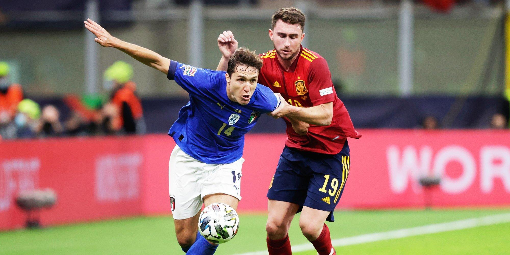 Испания вышла в финал Лиги наций, прервав рекордную серию Италии