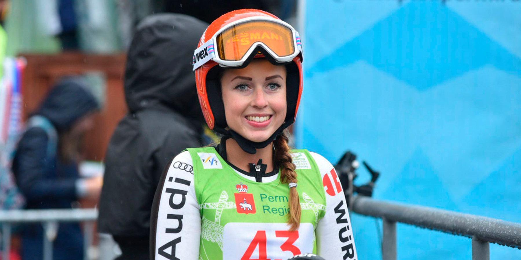 17-летняя россиянка Яковлева выиграла этапКМ попрыжкам страмплина