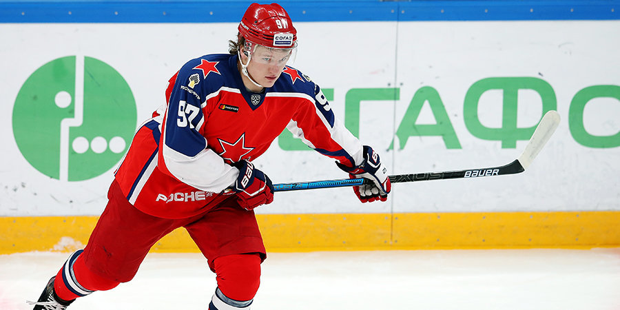 Президент ЦСКА: «Начали обсуждать новый контракт с Сорокиным. Капризов подпишет соглашение с клубом НХЛ»