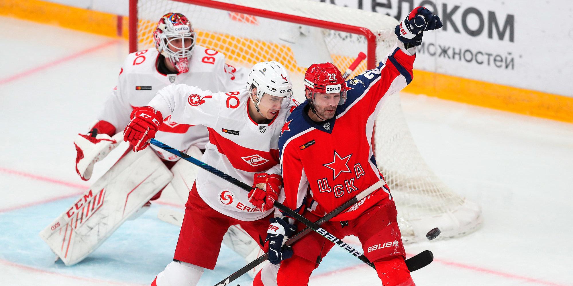 Кто поборется с ЦСКА и «Ак Барсом»? Все о плей-офф КХЛ