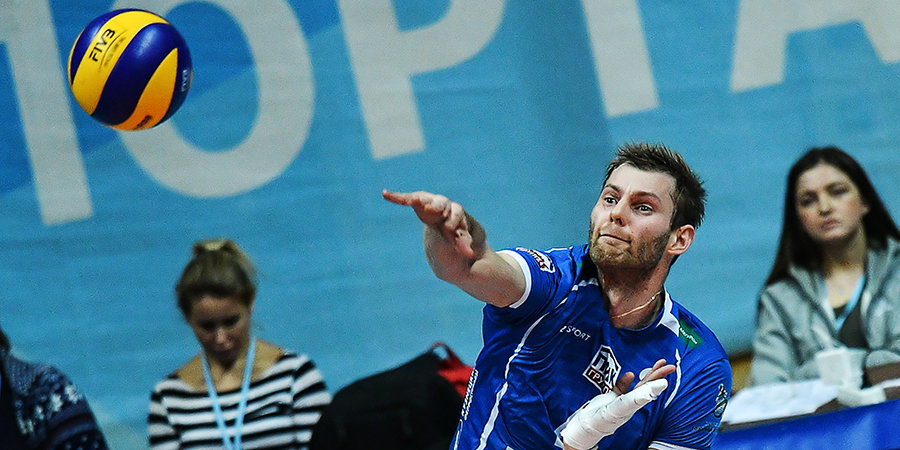 Московское «Динамо» проиграло «Трентино» в квалификации волейбольной ЛЧ