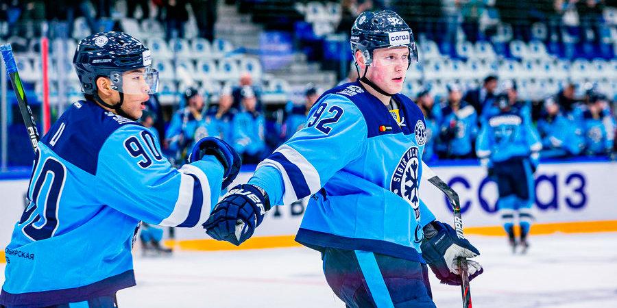 «Сибирь» впервые с 2010 года в гостях обыграла ЦСКА