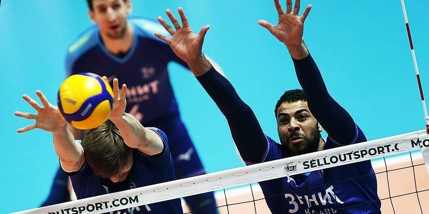 Казанский «Зенит» одержал седьмую победу в Суперлиге подряд, обыграв «Енисей»