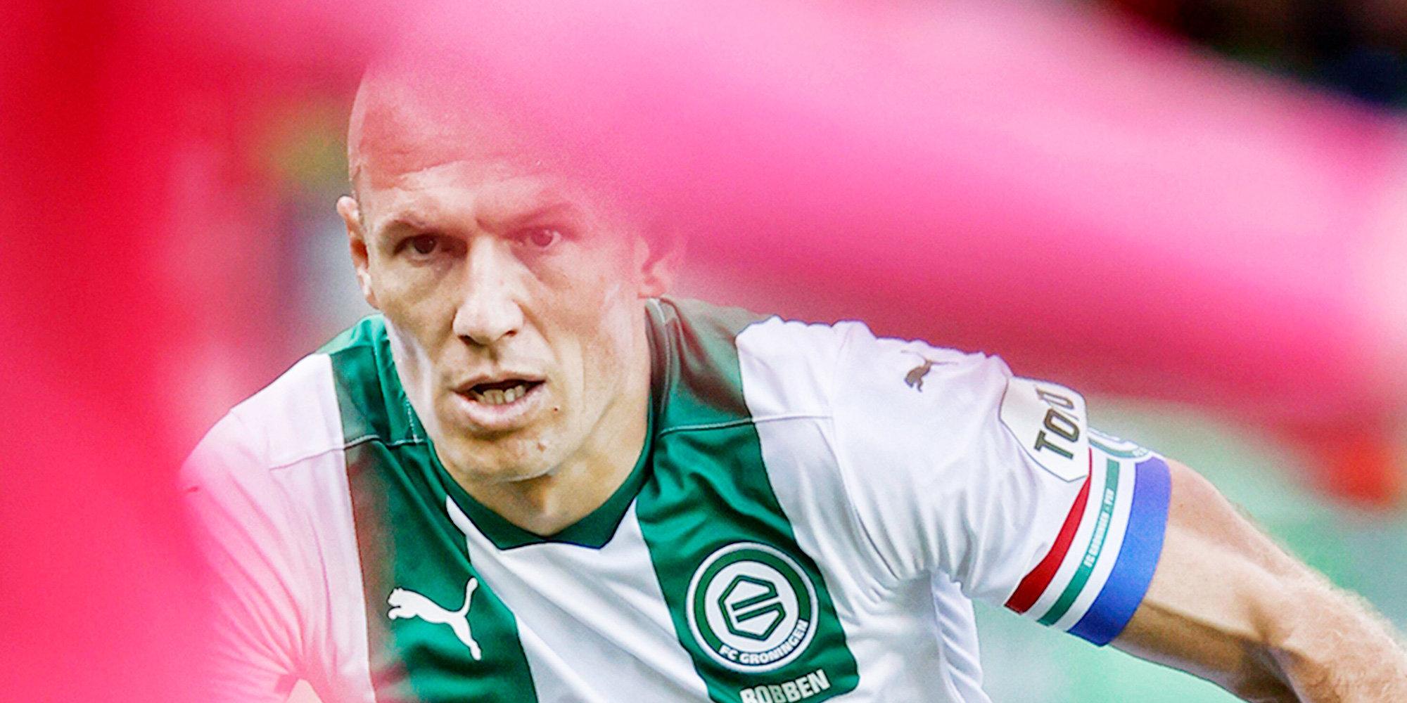 «Гронинген» предложил новый контракт 37-летнему Роббену, отыгравшему за сезон 44 минуты