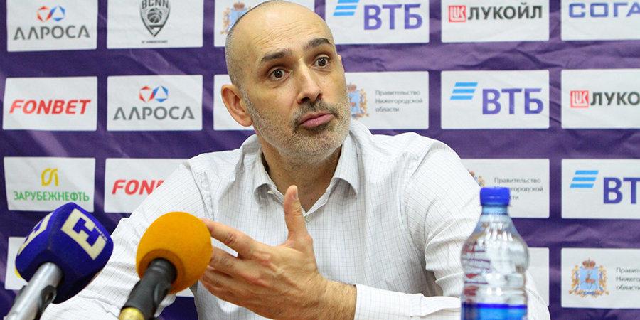 Зоран Лукич: «Воронцевич — великий игрок. Но из его прихода в «Нижний Новгород» не надо делать фейерверк»