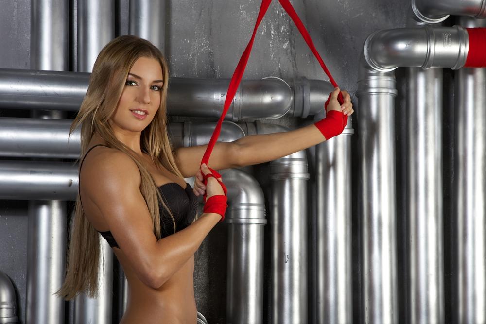 Голые девушки спортсменки видео