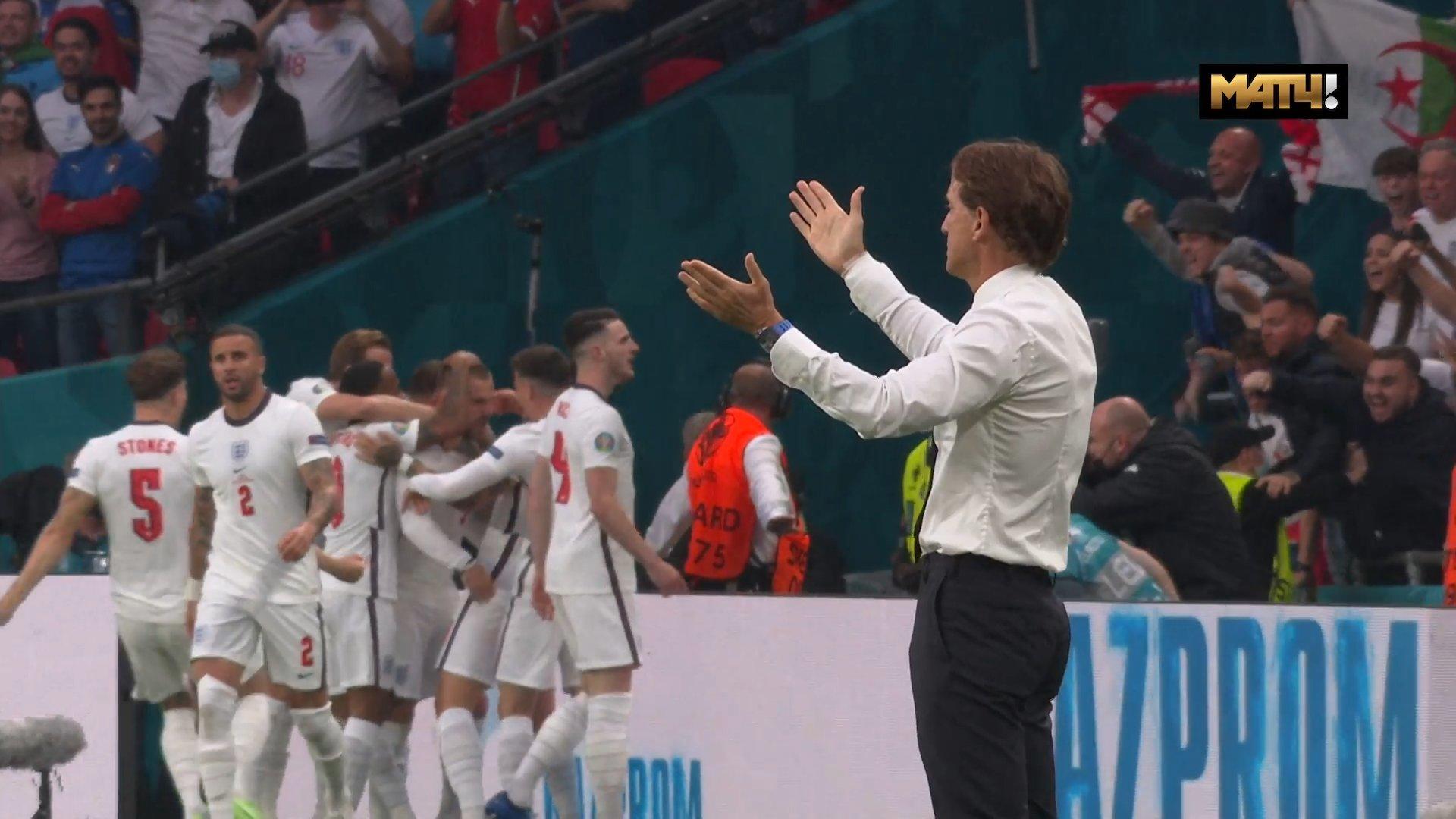 Защитник сборной Англии Шоу открыл счет в финале Евро-2020