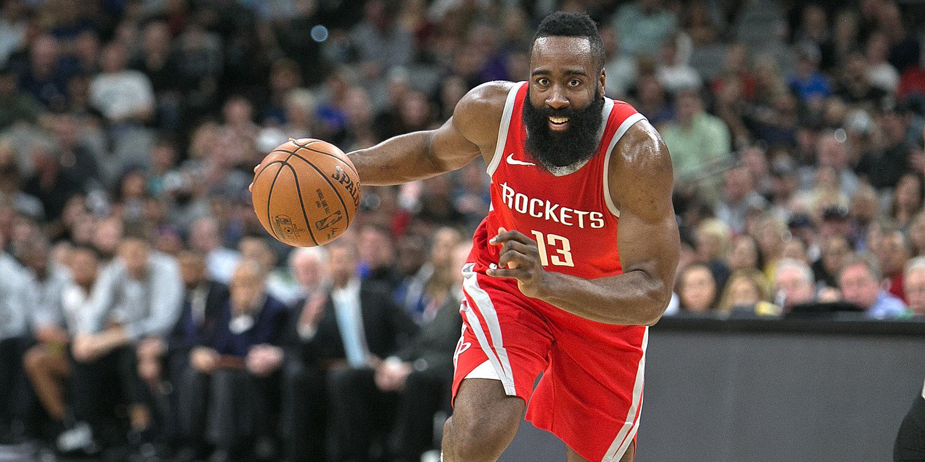 Харден поднялся на 7-е место в истории НБА по трехочковым попаданиям