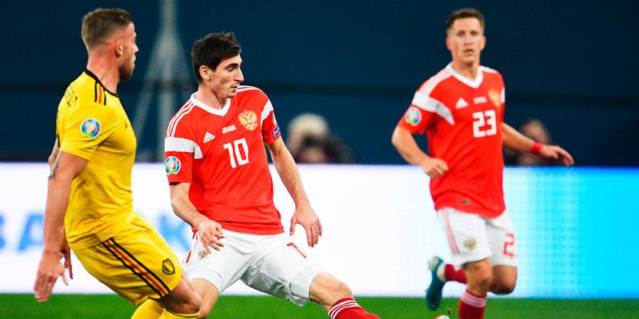 Поздновато вышел, Зелимхан... Бакаев стал лучшим против Бельгии