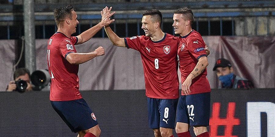 Когда коронавирус дарит шанс. У Чехии на матч с Шотландией - сразу 21 дебютант!