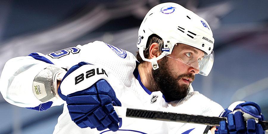 В плей-офф НХЛ Кучеров играл с переломом ребра
