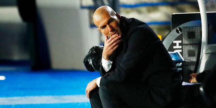 Зидан признался, что обеспокоен высокой травматичностью в «Реале»