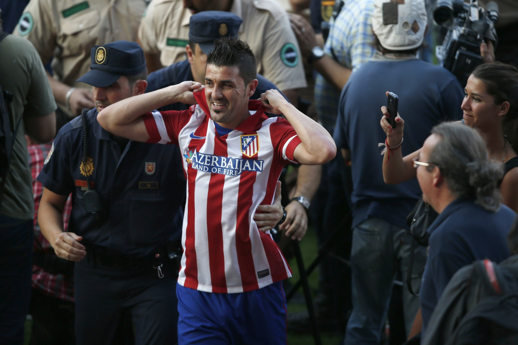 Давид Вилья может вернуться в сборную Испании