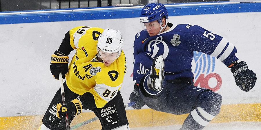 «Северсталь» сравняла счет в серии с московским «Динамо»