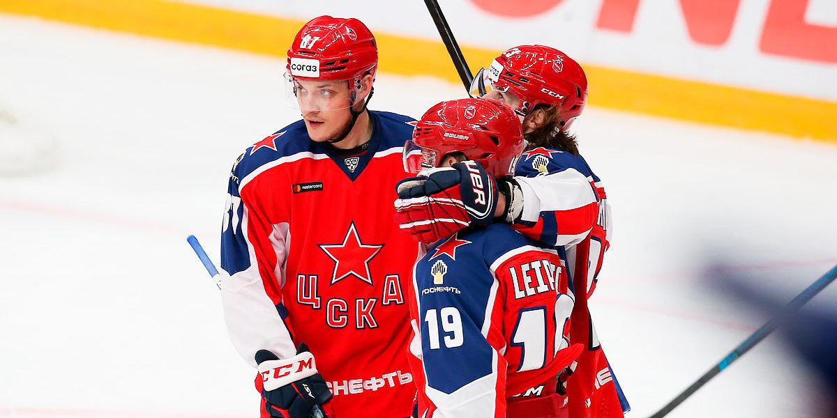 КХЛ изменила дату проведения матча ЦСКА — «Локомотив»