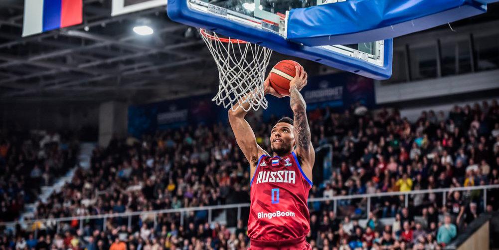 Российские баскетболисты обыграли Северную Македонию и завоевали путевку на Евробаскет