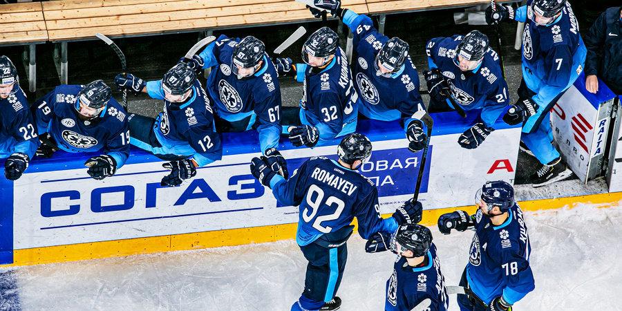 «Сибирь» прервала серию из четырех поражений подряд, дома обыграв «Куньлунь»
