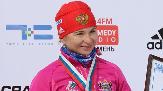 Услугина одолела в особой гонке начемпионате РФ побиатлону