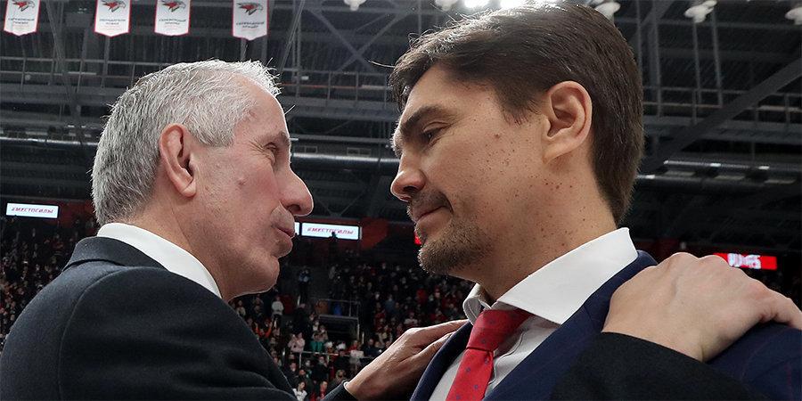 КХЛ назвала кандидатов на звание лучшего тренера сезона