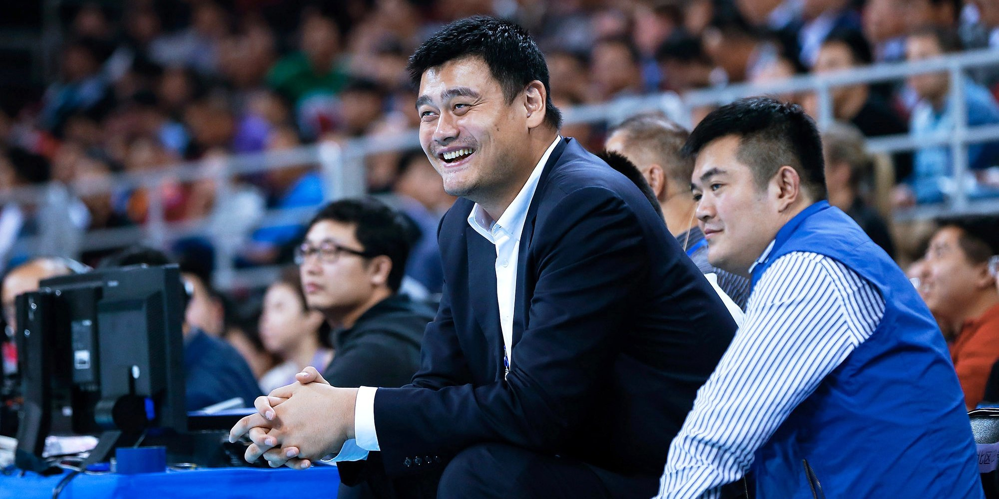 Яо Мин: «Нас ждут отличные финалы с участием сборных 3×3. Российский баскетбол — это круто»