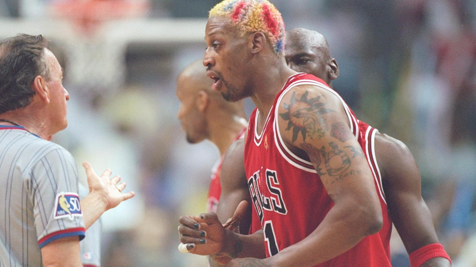 Пятикратный чемпион НБА Родман приговорен ктрем годам тюрьмы