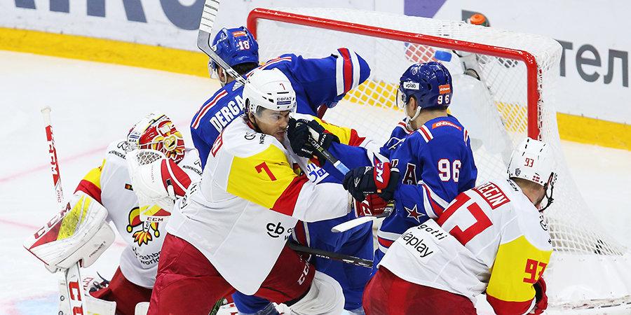 Дубль Ткачева принес СКА победу над «Йокеритом»