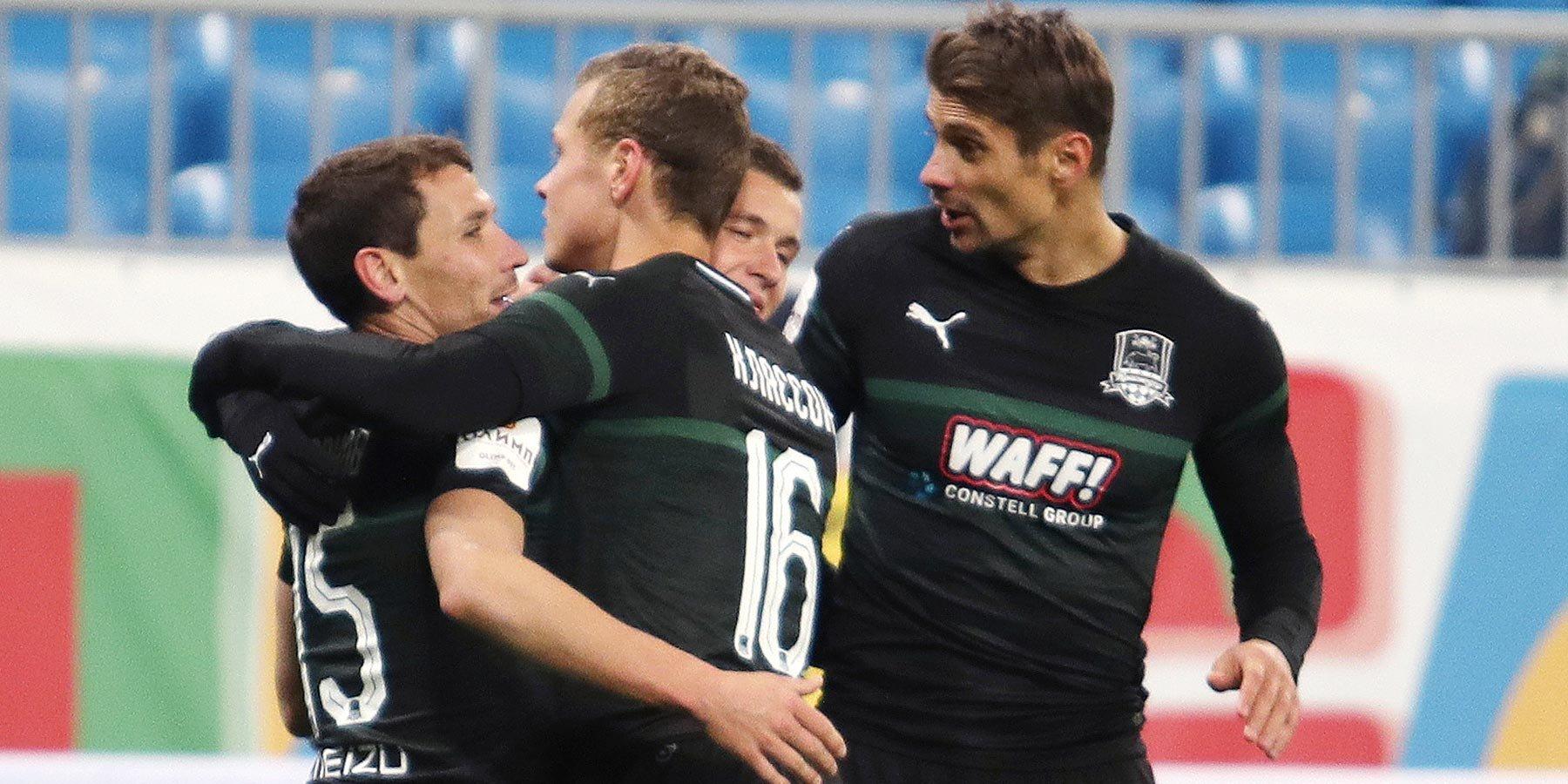 «Краснодар» обыграл «Крылья Советов» и вышел в четвертьфинал Кубка России