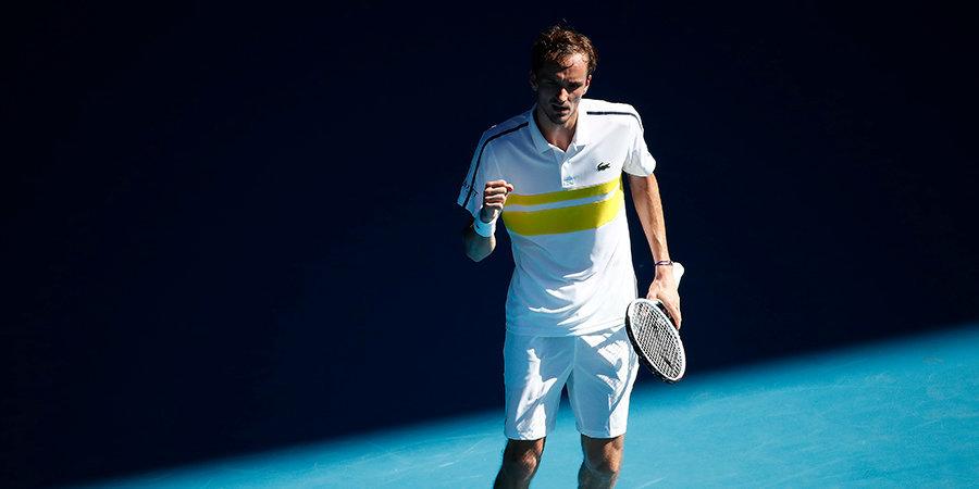 Медведев и Джокович сыграют в финале Australian Open