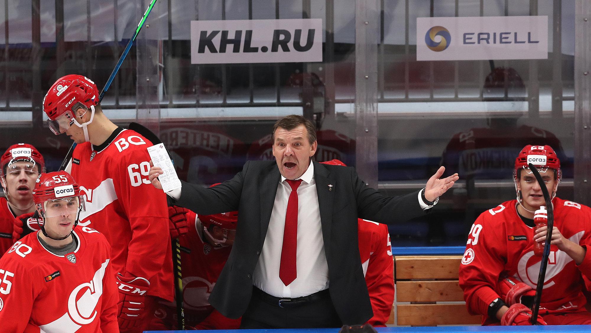 «Спартак» проиграл в гостях «Нефтехимику», пропустив пять шайб