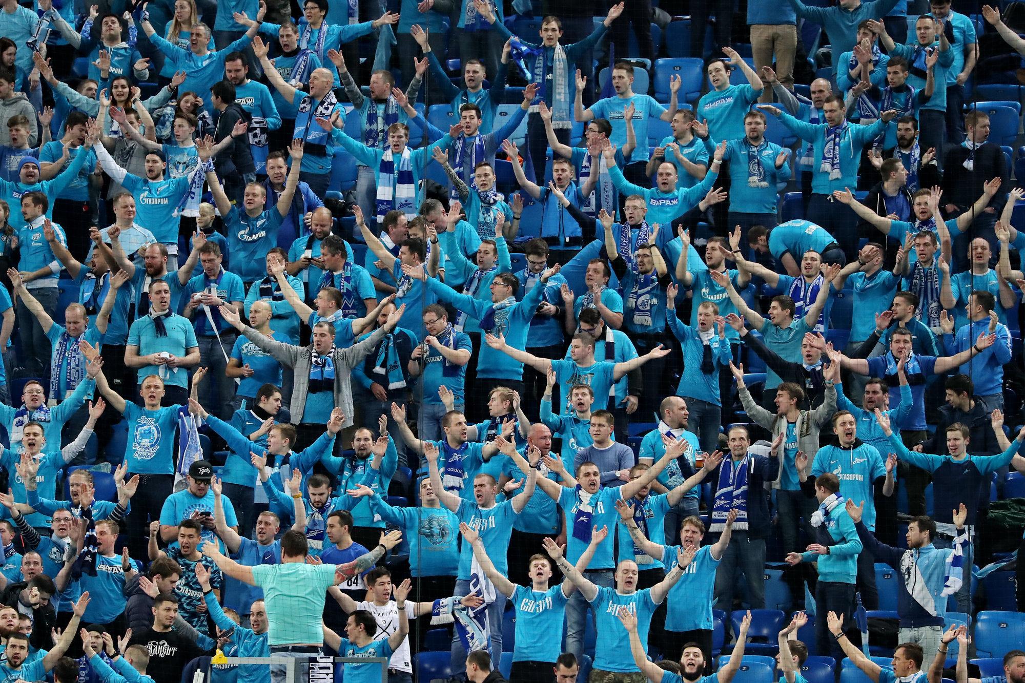 Боруссия дортмунд зенит фанаты питера видео
