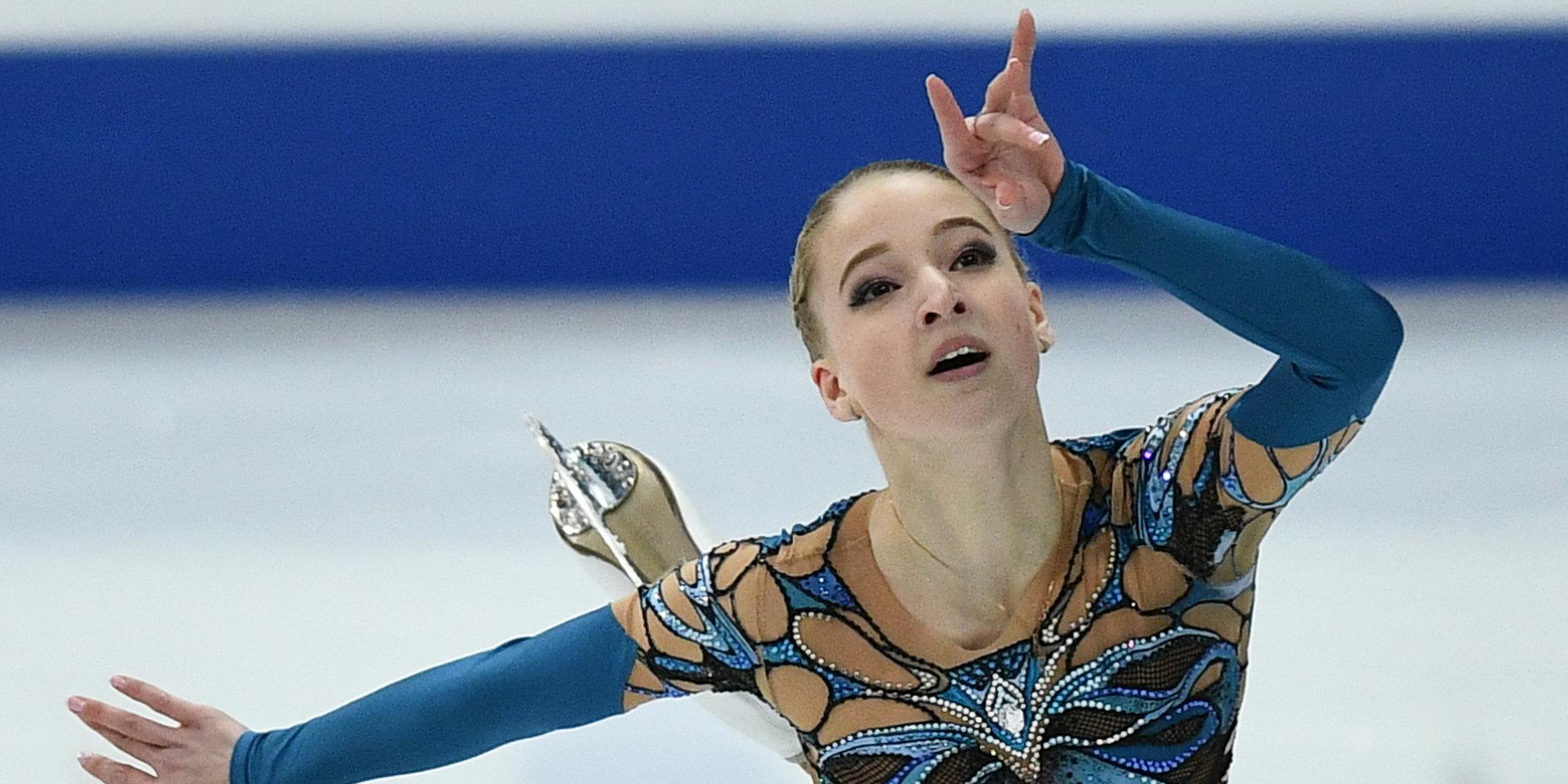Русская фигуристка Сотскова выиграла международный турнир вФинляндии