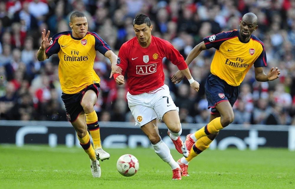 Манчестер юнайтед арсенал полуфинал лиги чемпионов 2009
