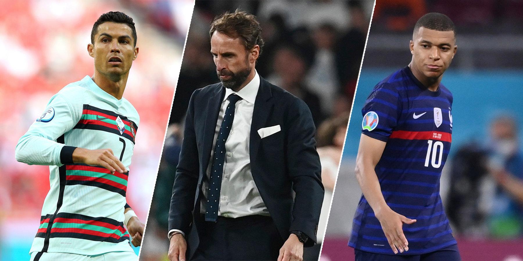 Бывшие чемпионы, трусливый Саутгейт, пижон Мбаппе… Главные разочарования Евро-2020
