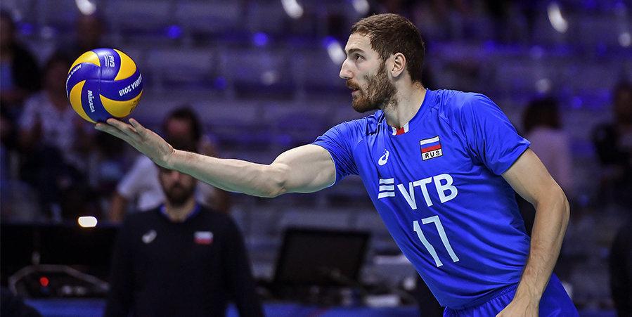 Российские волейболисты отказались от посещения церемонии открытия ОИ, Михайлов примет участие как знаменосец