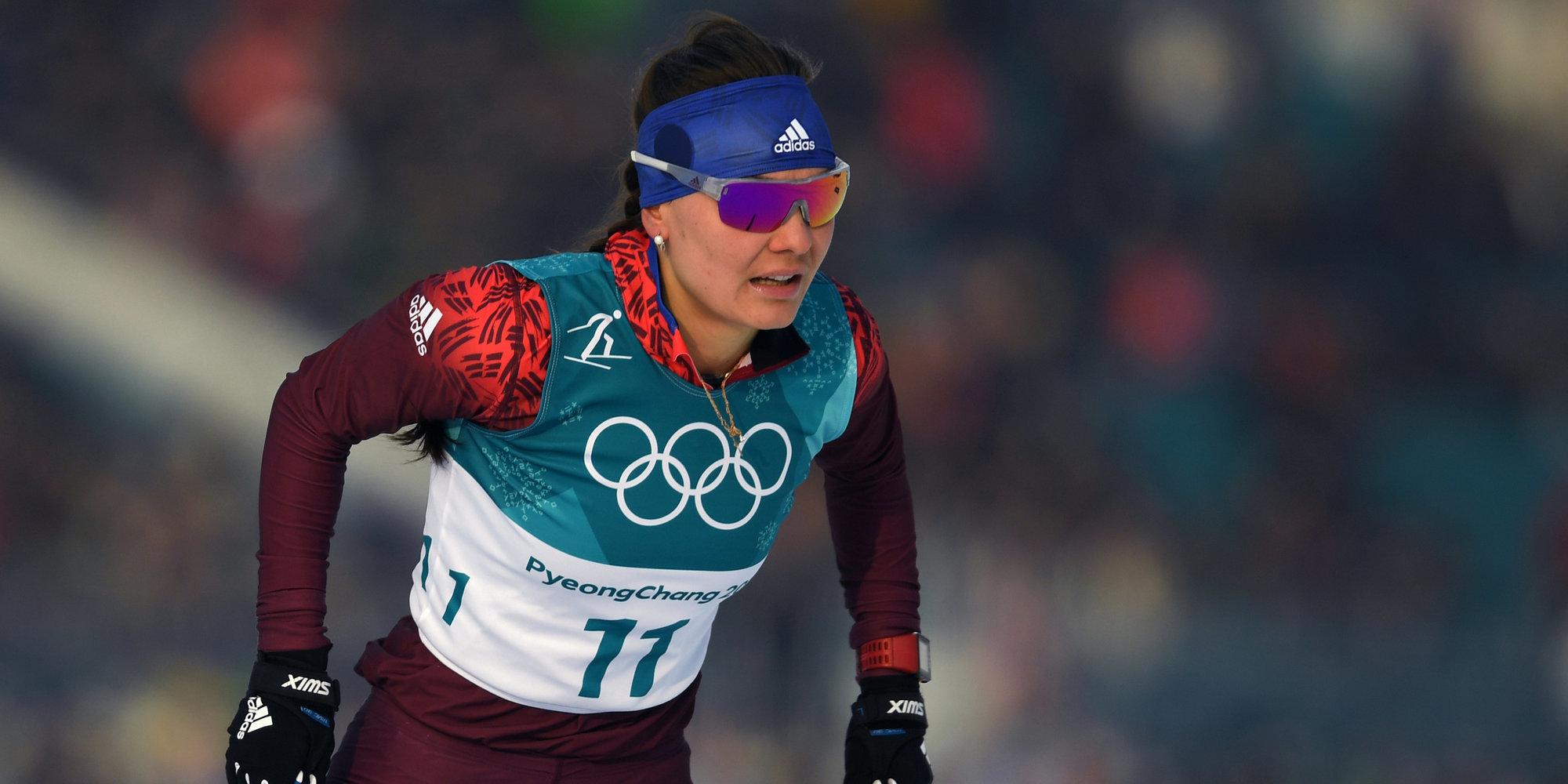 Влыжной гонке— сразу 4 медалистки иулучшен латвийский рекорд далекого 1994-ого года