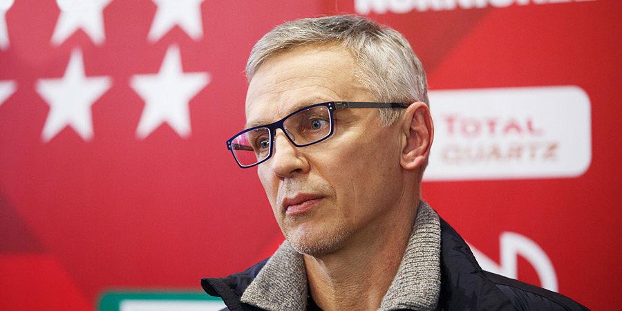 Ларионов будет исполнять обязанности главного тренера сборной России на шведском этапе Евротура